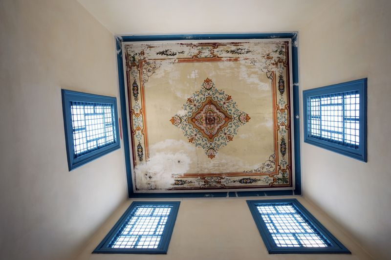 Photograpies chambre d 39 h tes bed and breakfast la for Chambre bleue tunis