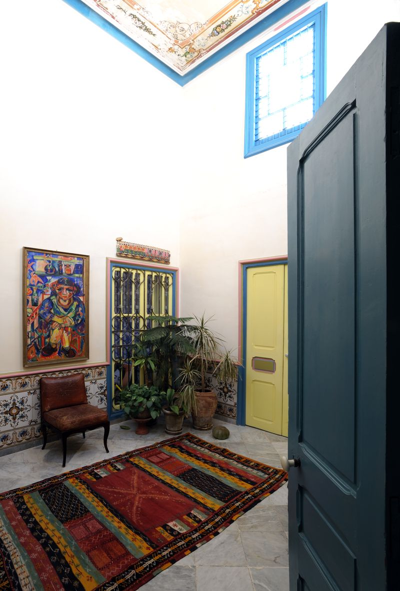 Fotografie bed and breakfast la chambre bleue for Chambre bleue tunis